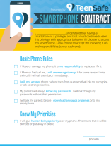 NPTA Digital Safety Campaign Smartphone Contract