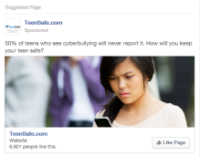 Facebook Ad - TeenSafe 2